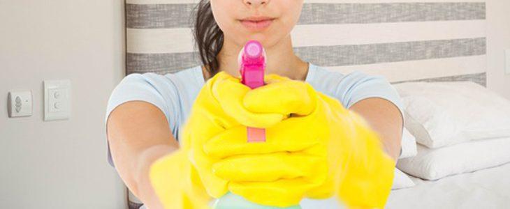 Les produits chimiques ménagers polluent l'air intérieur